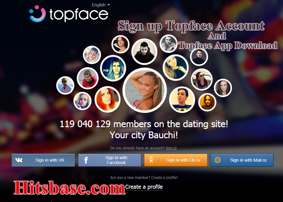 Topface ru dating type all day