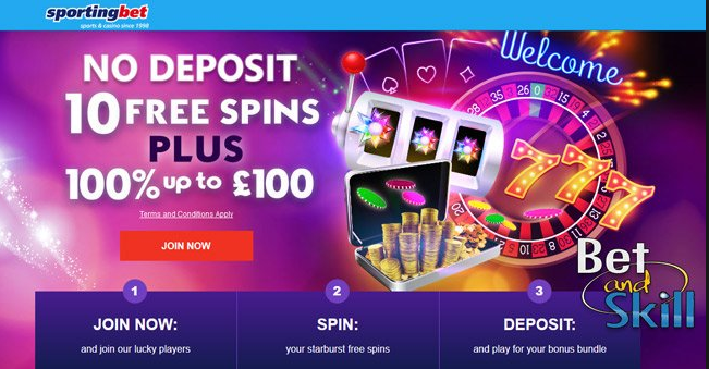 Sportingbet casino free spins