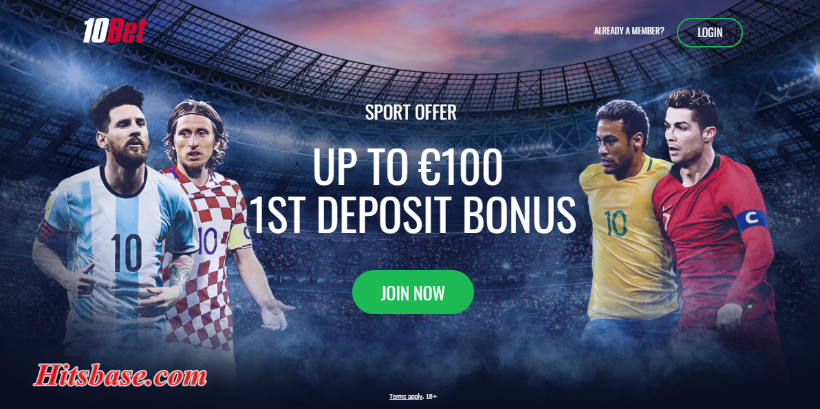 10Bet Account Registration | Sign up 10Bet Account Now