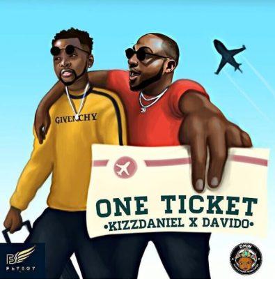 """Kizz Daniel """"One Ticket"""" ft. Davido (Prod by Major Bangz)"""
