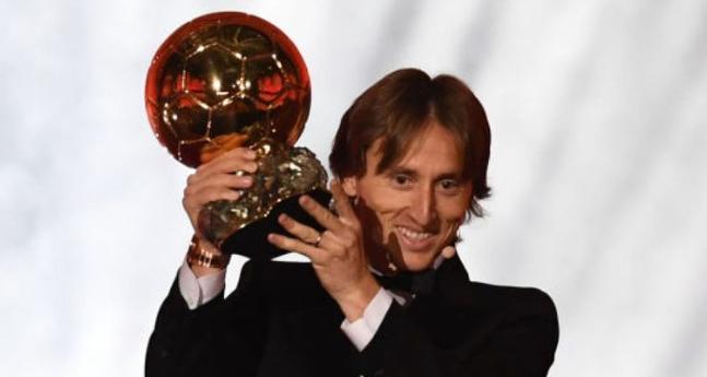 Luka Modric Wins The Ballon d'Or 2018