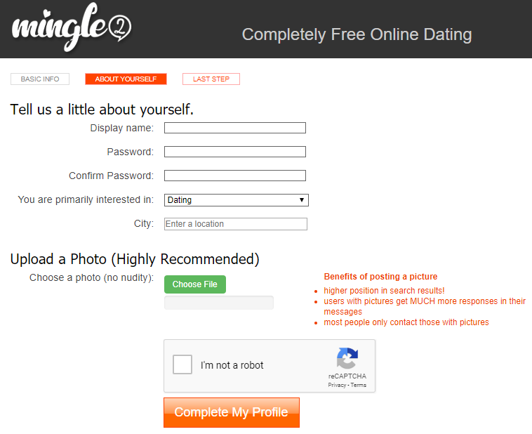 Mingle2 com sign up | Mingle2 Sign Up: Free Online Dating Site