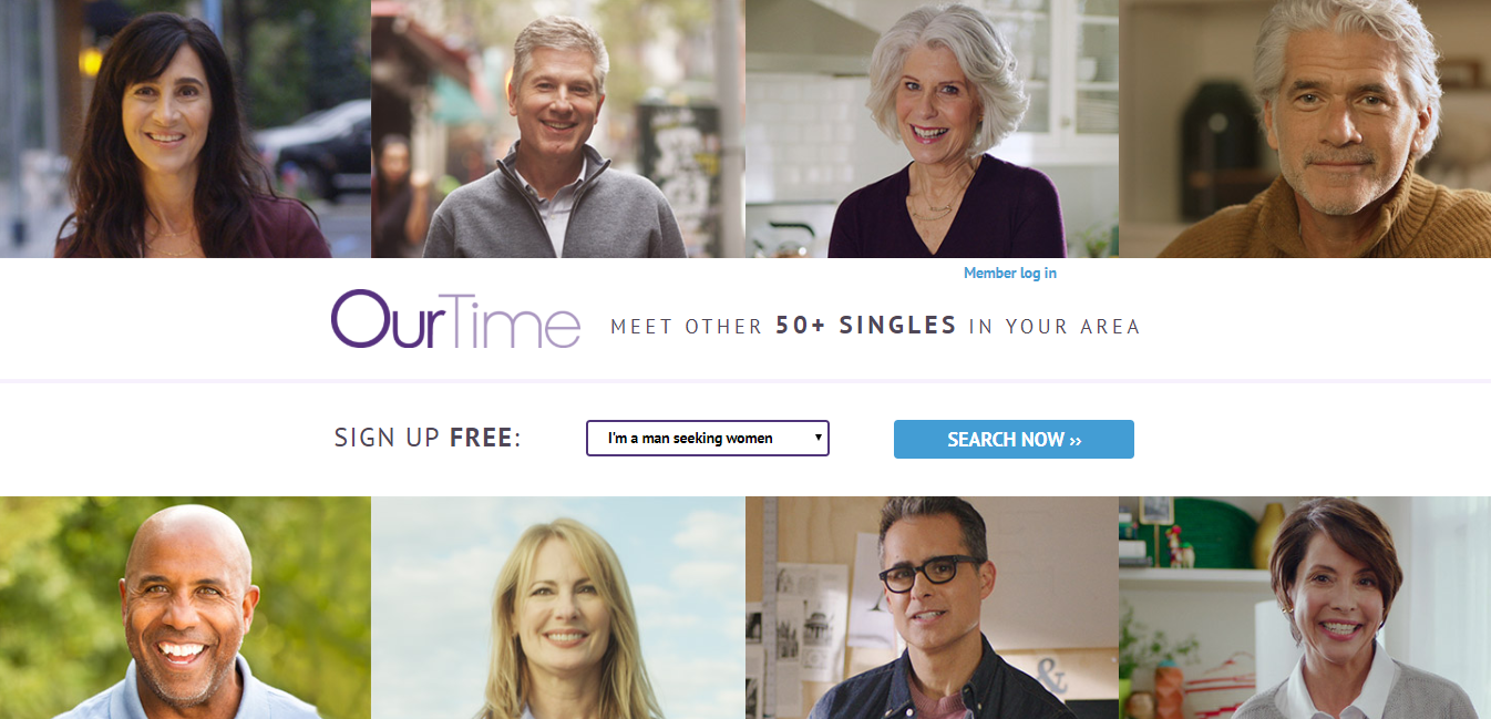 ourtime dating site log in