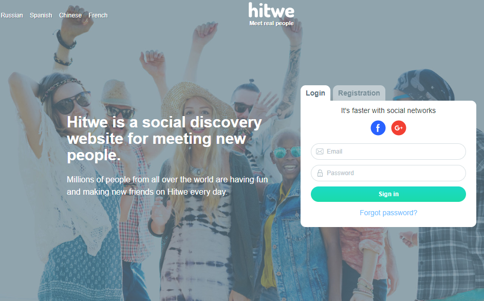 Hitwe com Sign Up | Hitwe Discover New Friends | Create A