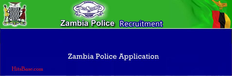 Zambia Police Recruitment