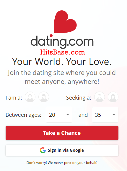 dating.com registration