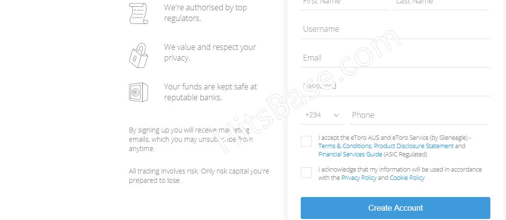 eToro Sign In Free Account