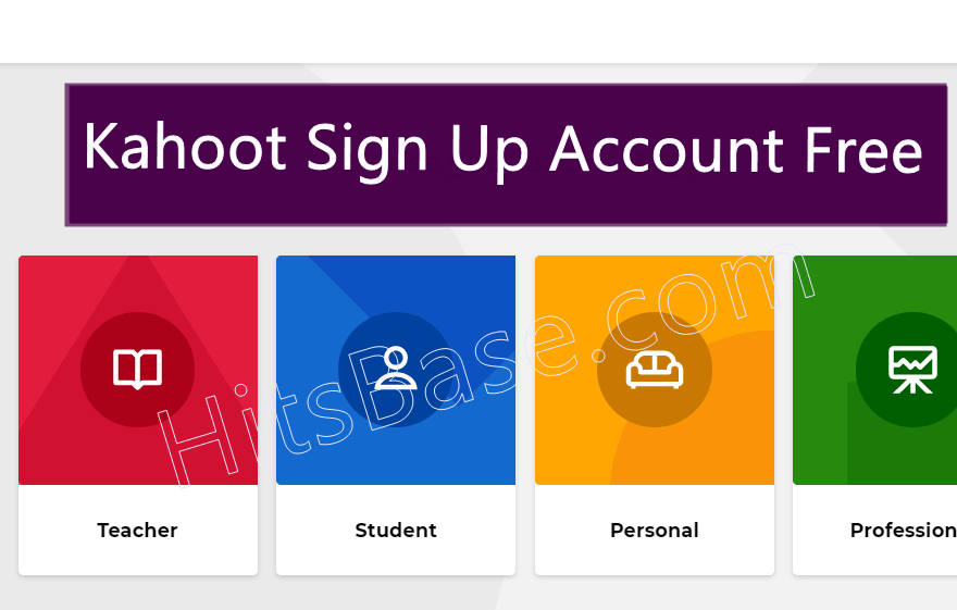 Kahoot Sign Up Account Free